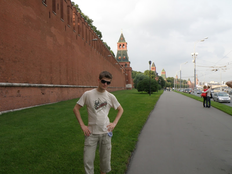 Walk around Kremlin