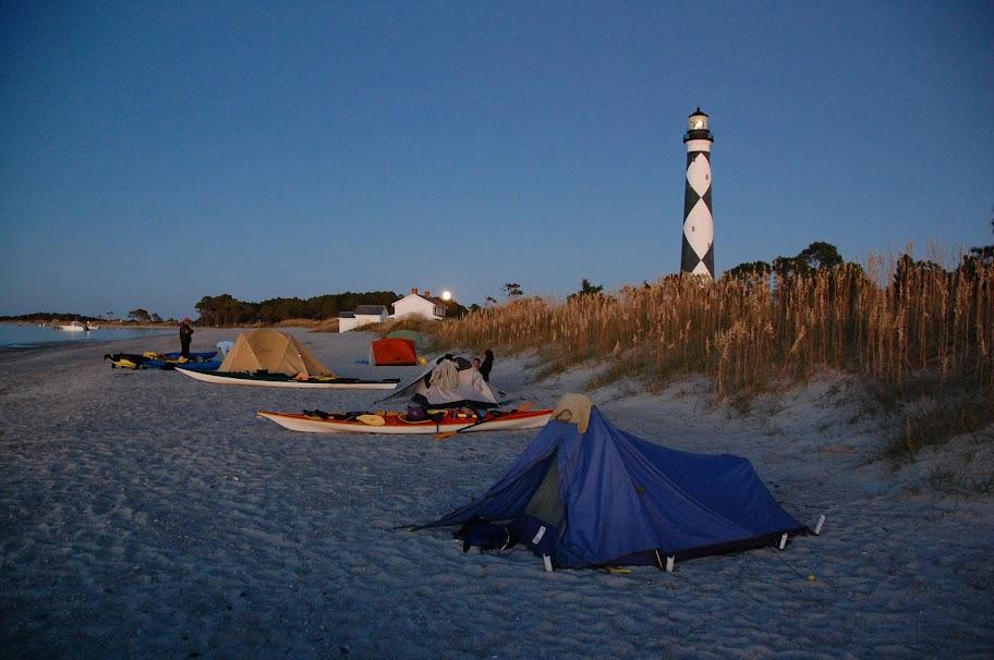 October Shackleford Banks Cape Lookout Trip Triangle Kayak