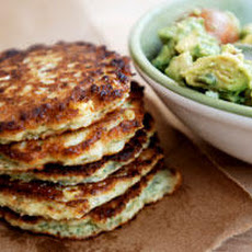 Simple Sweetcorn Cakes with Avocado Salsa Recipe