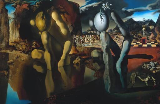 Salvador Dali - Metamorphosis of Narcissus, 1937