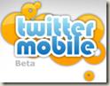 Twitter mobile logo
