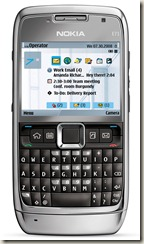 Reset of Nokia E71
