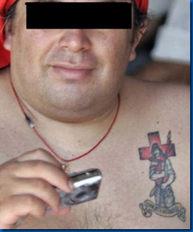 gauchito tatuaje