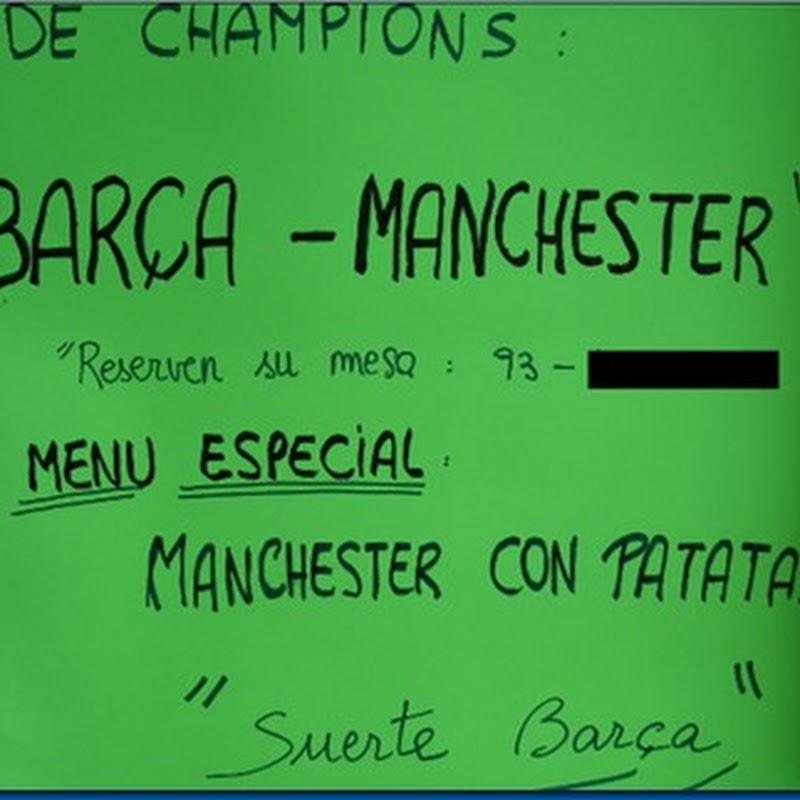 Manchester con patatas