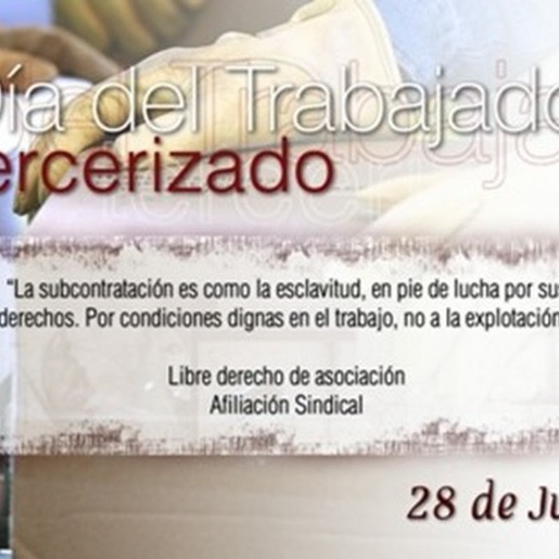 Día de acción contra la Tercerización