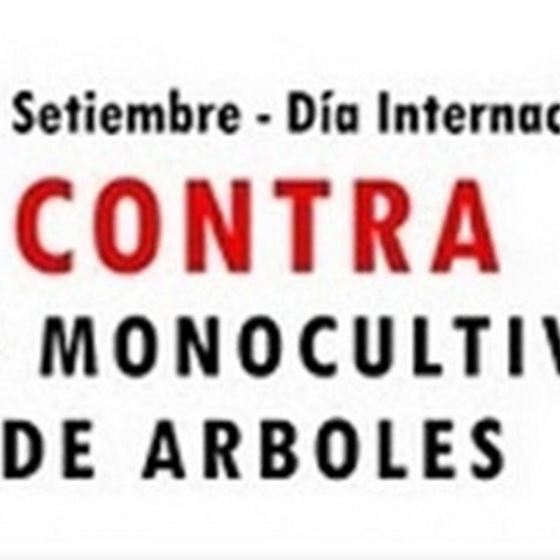 Día Internacional contra los Monocultivos de árboles
