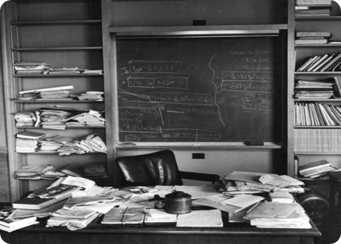 einstein desk
