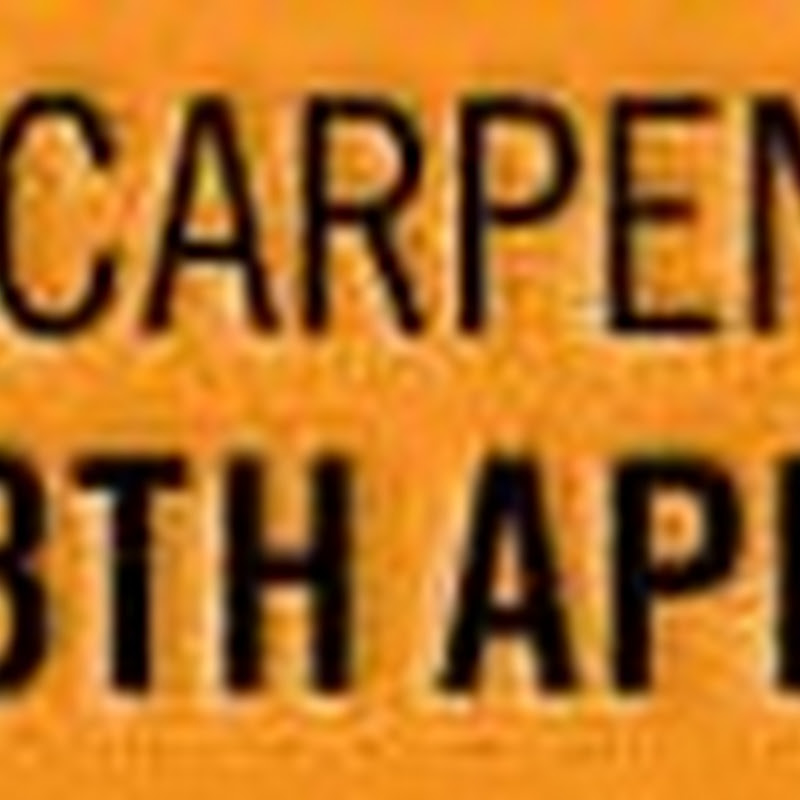 National Carpenters Day
