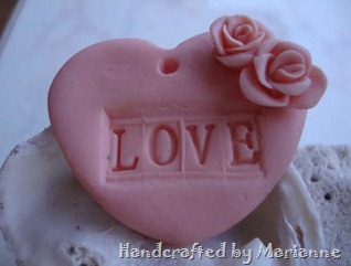 Clay Heart Love