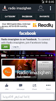Screenshot of Radio Imazighen