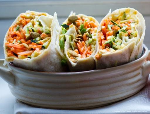 Sunny Spicy Wrap. Or Cheesy Quesadilla.