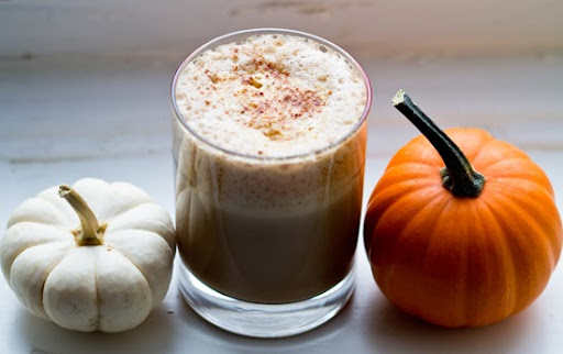 Pumpkin Spice Latte. Vegan. Cozy. Not a la Starbucks.