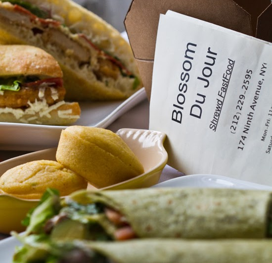 Blossom du jour opens in nyc vegan fast food pics for Salon du fast food