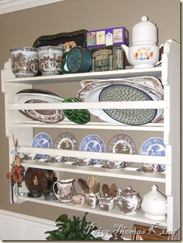 platter rack old
