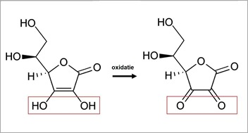 oxidatie ascorbinezuur