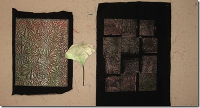 two quilts in process2