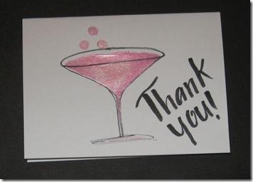 pink martini card