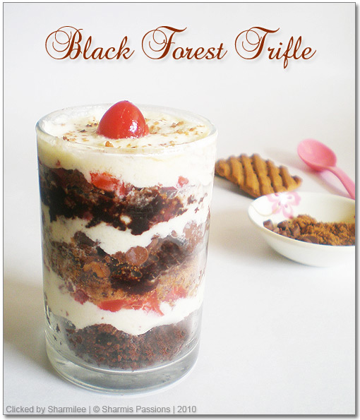 Black Forest Trifle Recipe