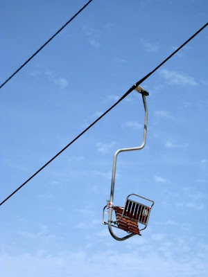 Chairlift in Capri Italy