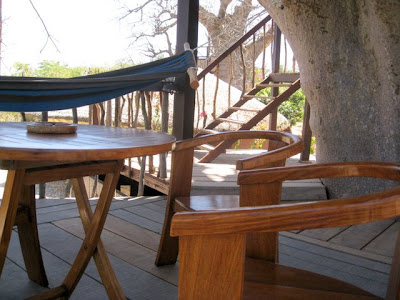 Treehouse at Les Collines de Niassam in Senegal