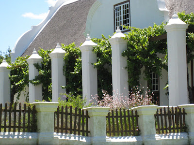 Winery in Franschhoek South Africa