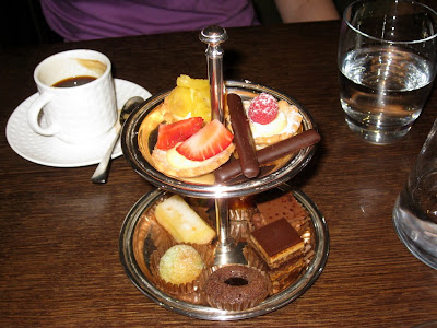 Afternoon tea at Riederer in Aix en Provence