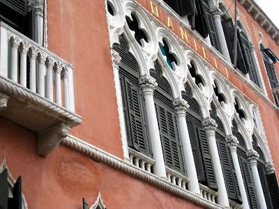 Exterior of Hotel Danieli in Venice