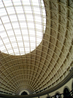 The Corn Exchange ceiling interior in Leeds
