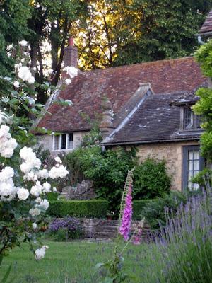 Small house at Garsington Manor in England