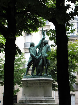 Statue in Paris France