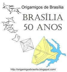 Logo Origamigos Brasília 50anos A p