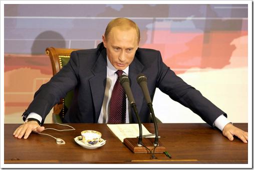 """Путин о """"Викиликс"""": Никакой катастрофы я в этом не вижу"""""""