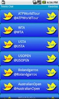Screenshot of Tennis Chat