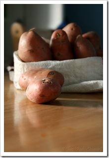czerwone ziemniaki ziemniaczany tydzień