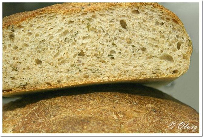 chleb z kolendrą