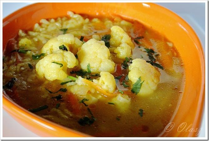zupa kalafiorowa  cauliflower soup