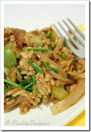 smazony ryz z tunczykiem/ fried tuna rice