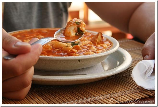 potugalska zupa rybna