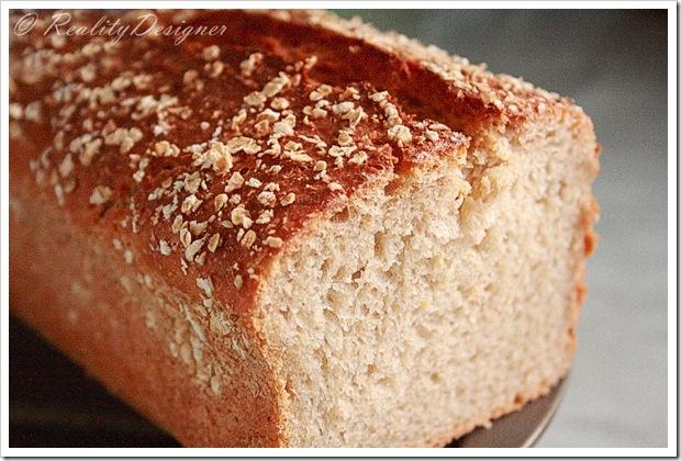 chleb owsiany/ oatmeal bread