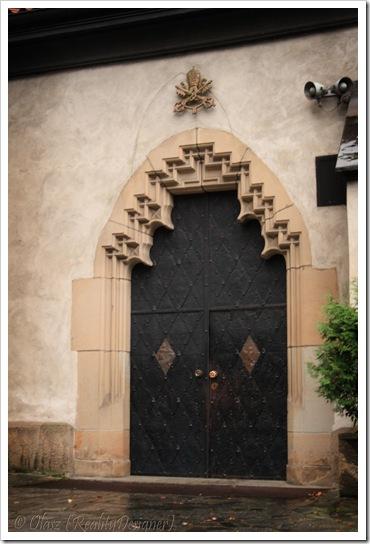 Nowy Sącz, Bazylika Kolegiacka św. Małgorzaty, boczne wejście, boczne wejście
