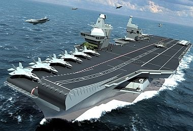 British Aircraft Carrier
