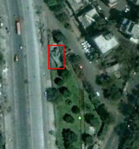 MiG-23 in Pune [Google Earth]