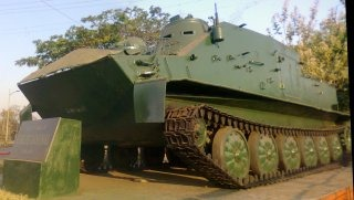 Indian Army OT-62 Topas Armoured Vehicle [Khadki, Pune]