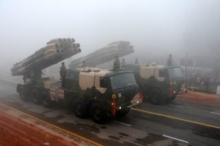Indian Army's Multi-Barrel Rocket Launcher [MBRL] BM-30 Smerch Wallpaper