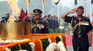 Indian Army Wallpaper [Indian Army Chief & the Vice-Chief]