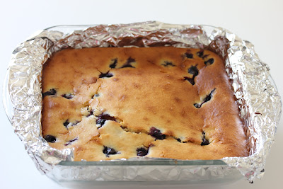 ... blueberry mochi cake. I love all the various mochi cakes I've made