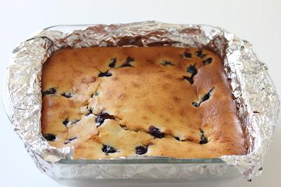 Blueberry Butter Mochi a Blueberry Mochi Cake