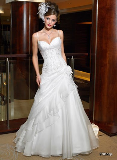 Romantic Brides Dresses 2010