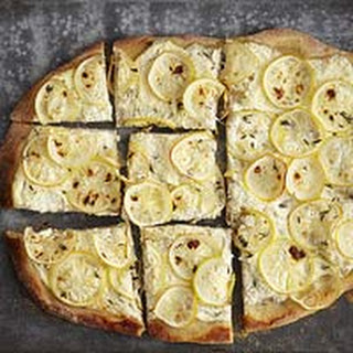 Lemon Wheel & Ricotta Pizza