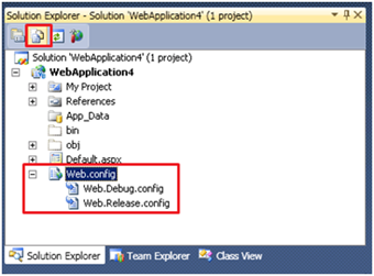 VB.net web.config Transform